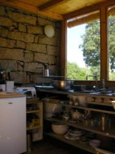 de keuken met uitrustiing